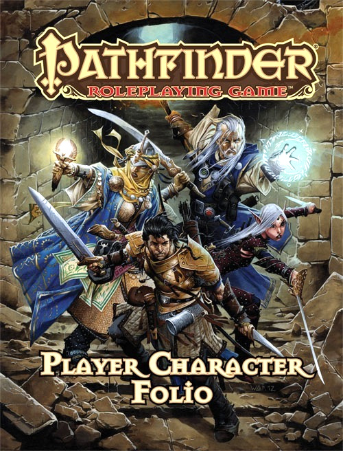 Pathfinder Rpg: Player Character Folio Box Front