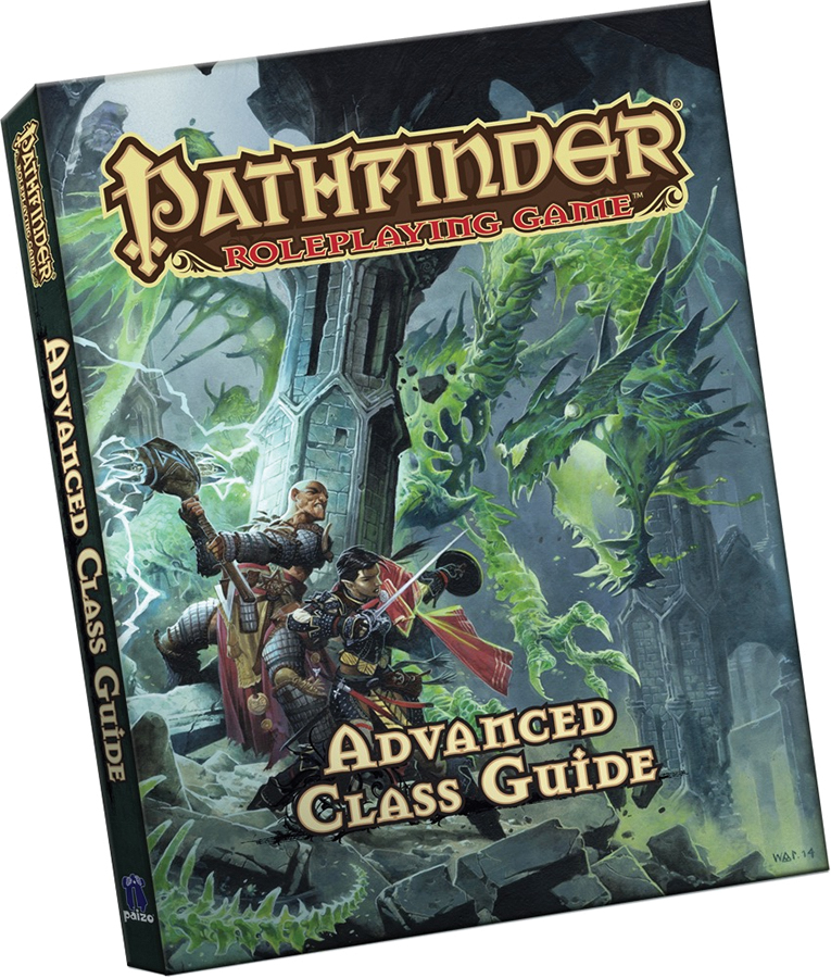 Pathfinder Rpg: Advanced Class Guide (pocket Edition) Box Front