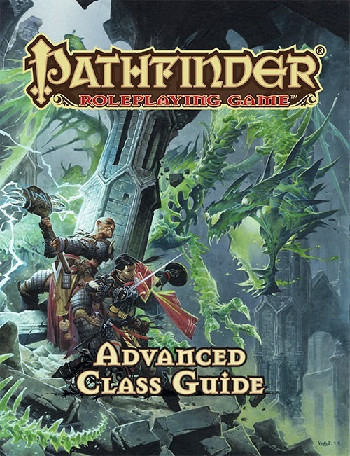Pathfinder Rpg: Advanced Class Guide Hardcover Box Front