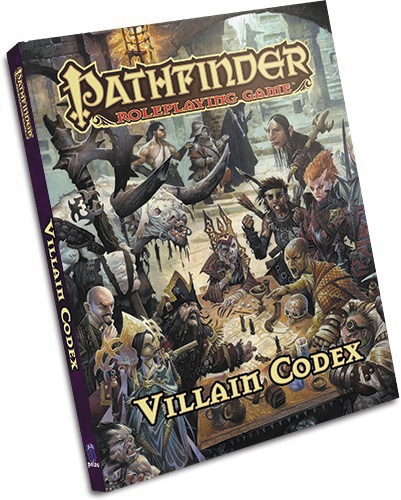 Pathfinder Rpg: Villain Codex Hardcover Box Front
