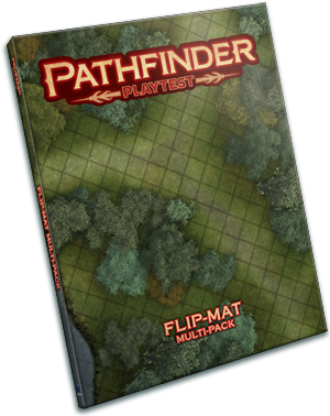 Pathfinder Rpg: Playtest Flip-mat Multi-pack Box Front