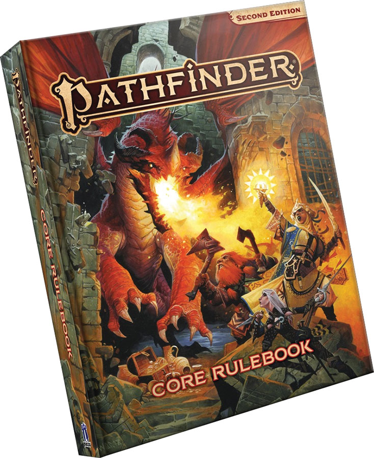 Pathfinder Rpg: Core Rulebook Hardcover (p2) Game Box