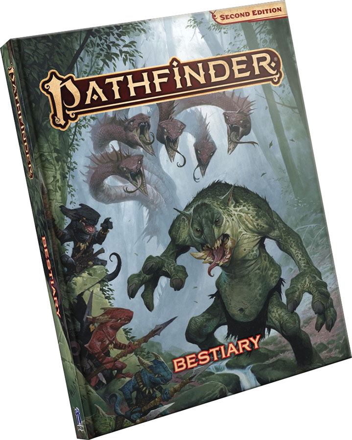 Pathfinder Rpg: Bestiary Hardcover (p2) Game Box