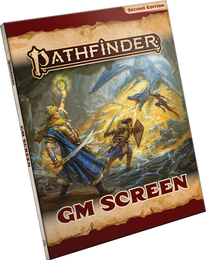 Pathfinder Rpg: Gm Screen (p2) Game Box
