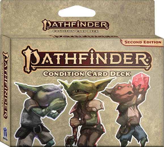 Pathfinder Rpg: Condition Card Deck (p2) Game Box