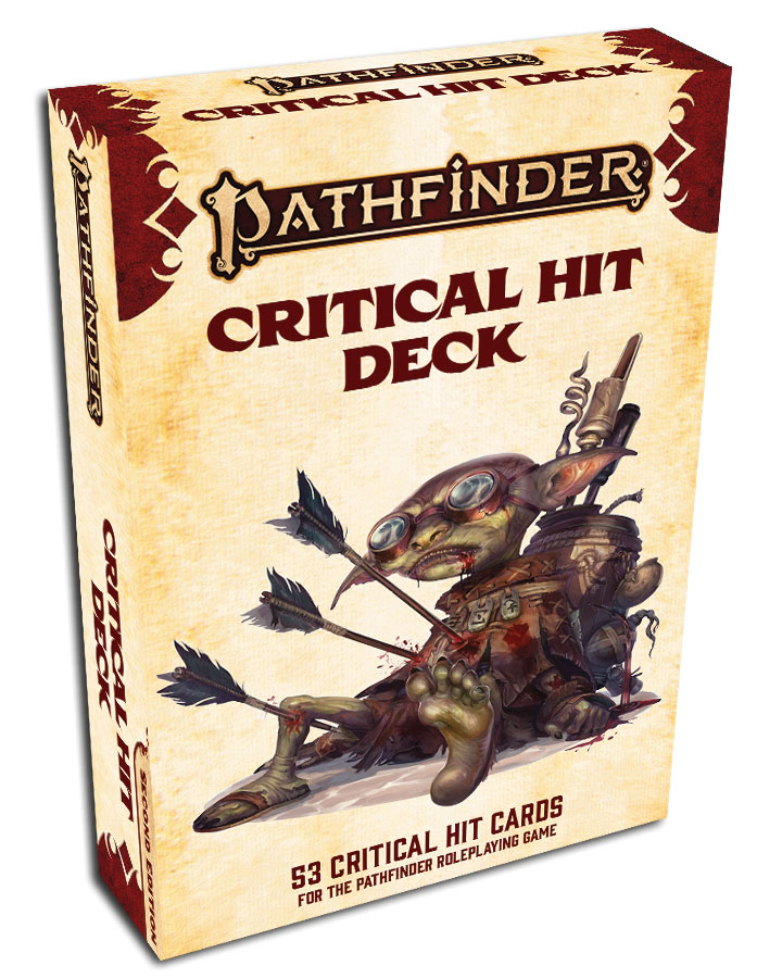 Pathfinder Rpg: Critical Hit Deck (p2) Game Box