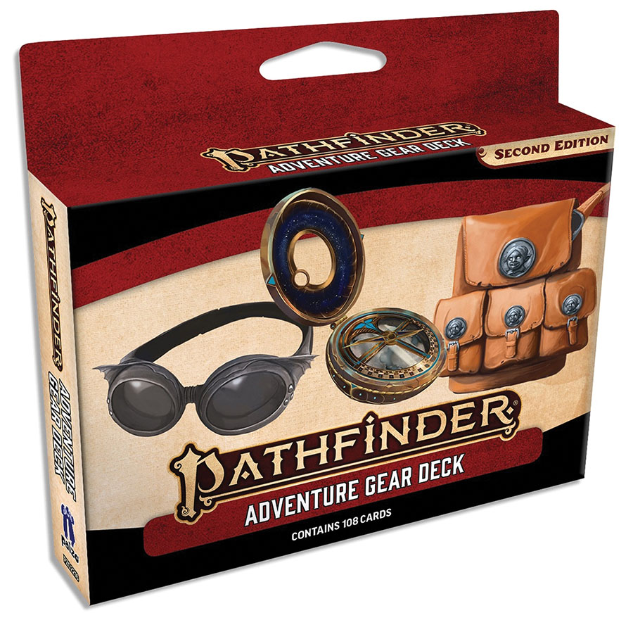 Pathfinder Rpg: Adventure Gear Deck (p2)