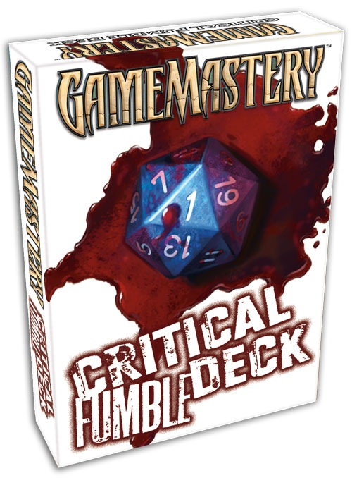 Pathfinder Rpg: Critical Fumble Deck Box Front