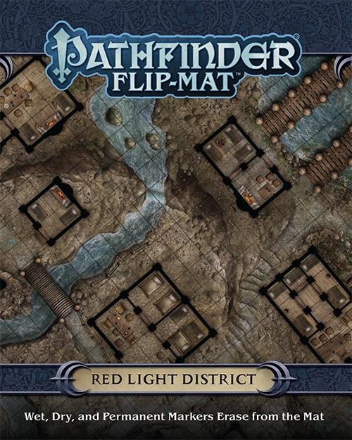 Pathfinder Rpg: Flip-mat - Red Light District Box Front