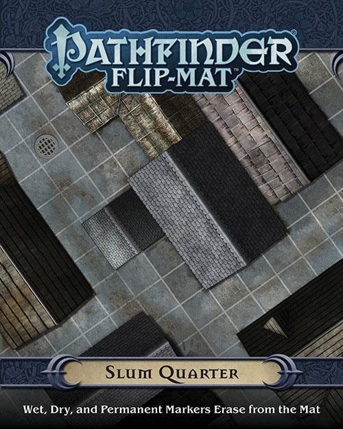 Pathfinder Rpg: Flip-mat - Slum Quarter Box Front
