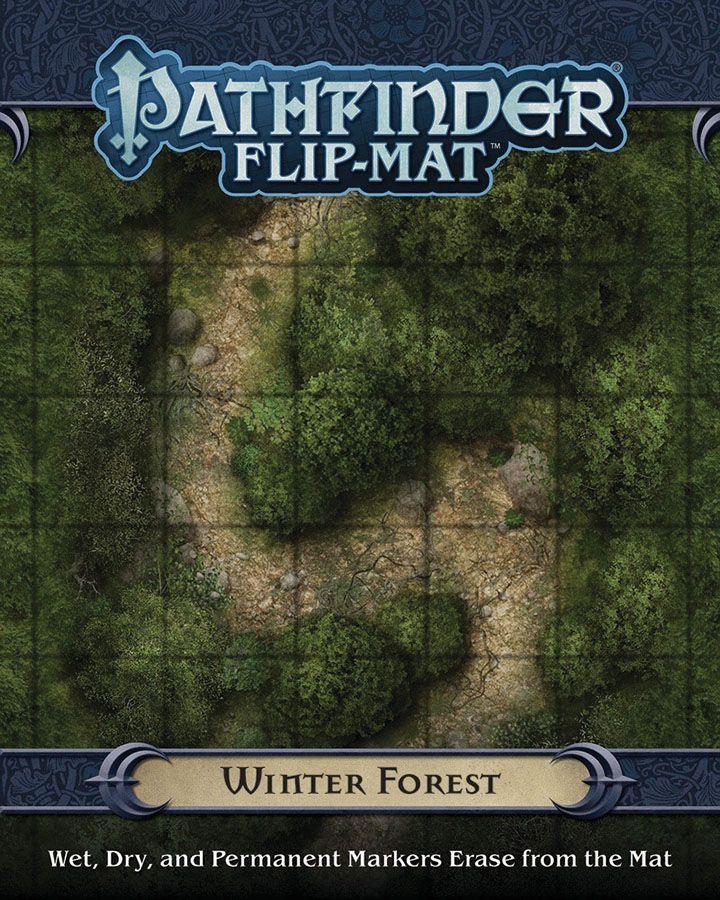 Pathfinder Rpg: Flip-mat - Winter Forest Box Front