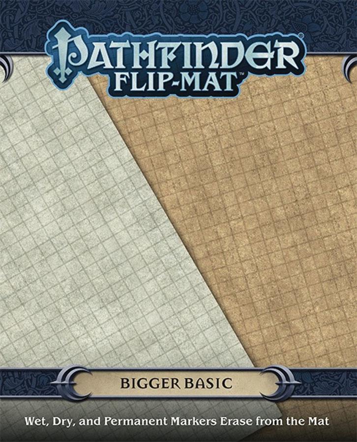 Pathfinder Rpg: Flip-mat - Bigger Basic Box Front