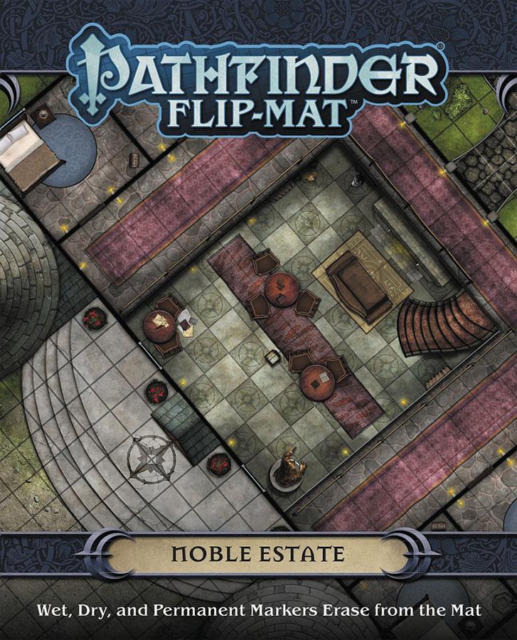 Pathfinder Rpg: Flip-mat - Noble Estate Box Front