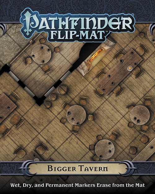 Pathfinder Rpg: Flip-mat - Bigger Tavern Box Front