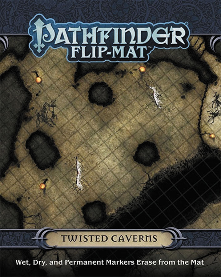 Pathfinder Rpg: Flip-mat - Twisted Caverns Box Front