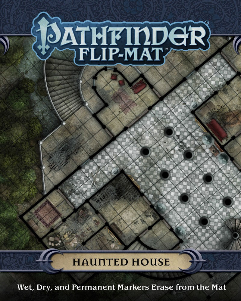 Pathfinder Rpg: Flip-mat - Haunted House Box Front