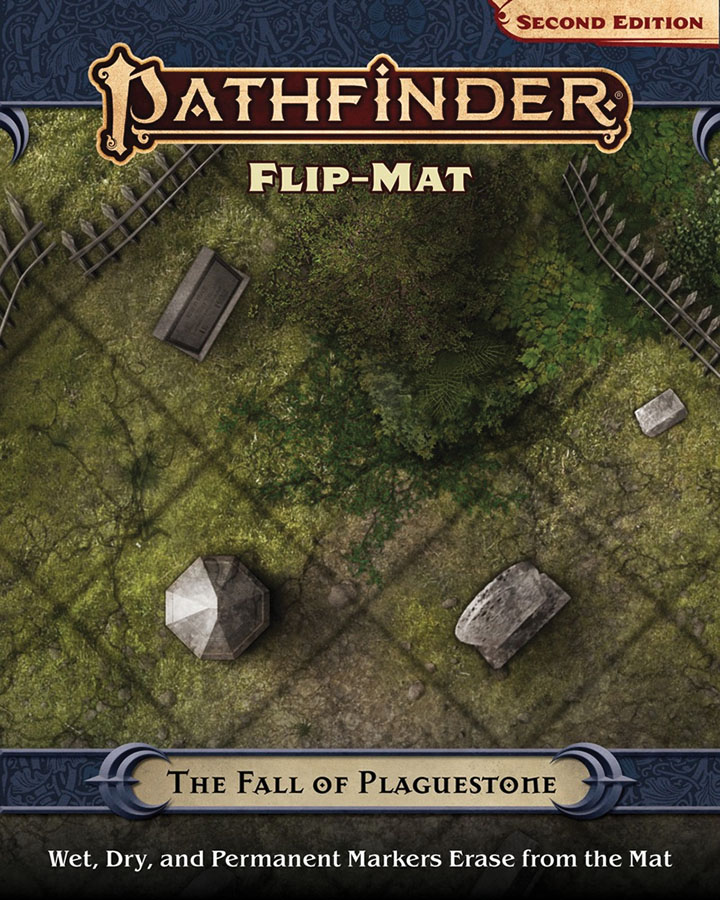 Pathfinder Rpg: Flip-mat - The Fall Of Plaguestone (p2) Game Box