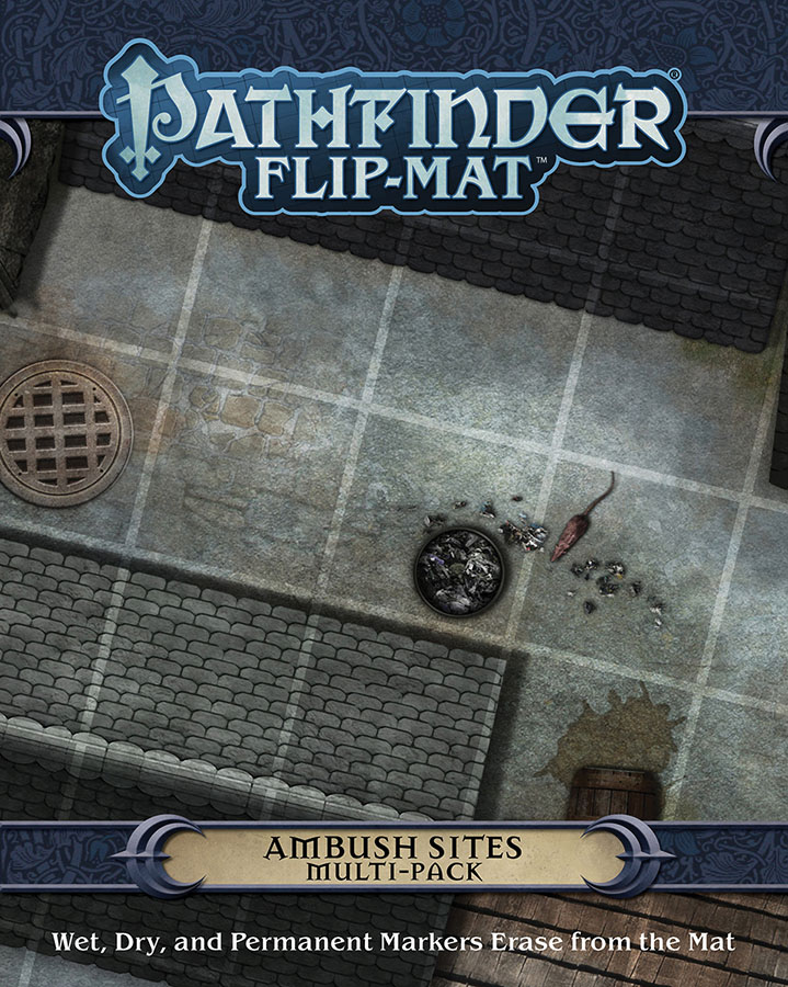 Pathfinder Rpg: Flip-mat - Ambush Sites Multi-pack Game Box