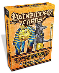 Pathfinder Rpg: Item Cards - Mummy`s Mask Deck Box Front