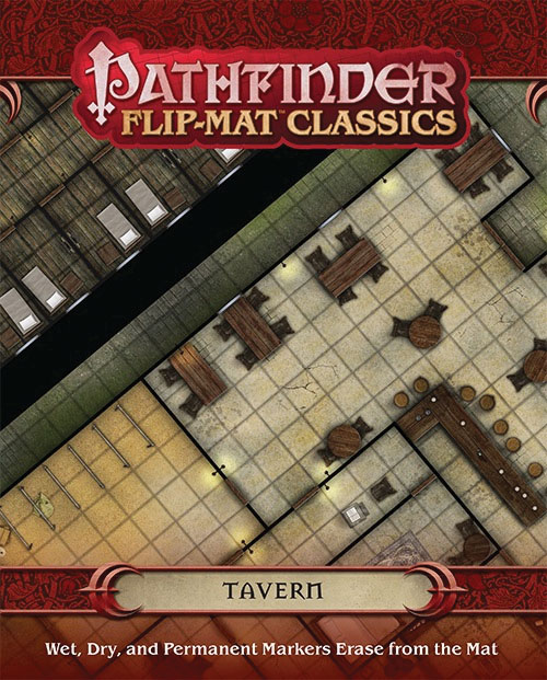 Pathfinder Rpg: Flip-mat Classics - Tavern Box Front
