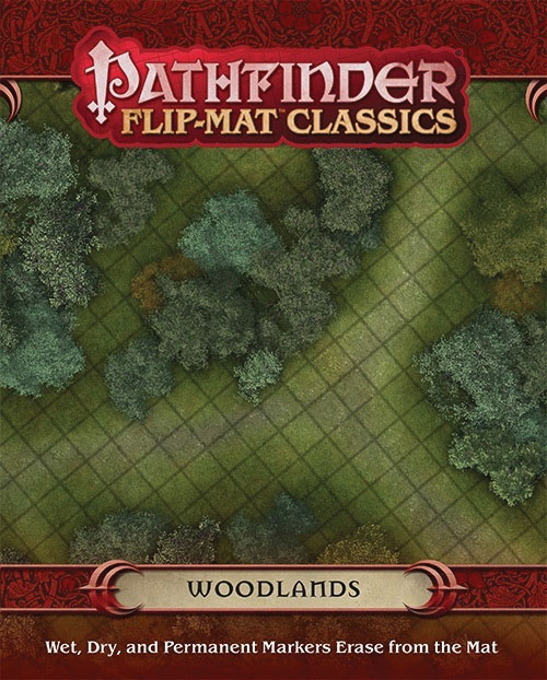 Pathfinder Rpg: Flip-mat Classics - Woodlands Box Front