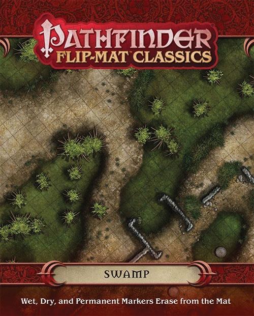 Pathfinder Rpg: Flip-mat Classics - Swamp Box Front