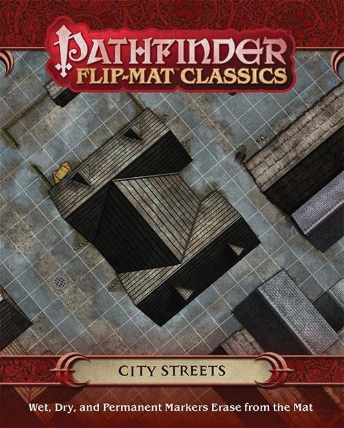 Pathfinder Rpg: Flip-mat Classics - City Streets Box Front