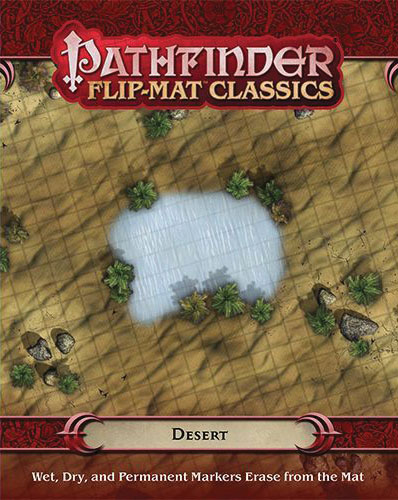 Pathfinder Rpg: Flip-mat Classics - Desert Box Front