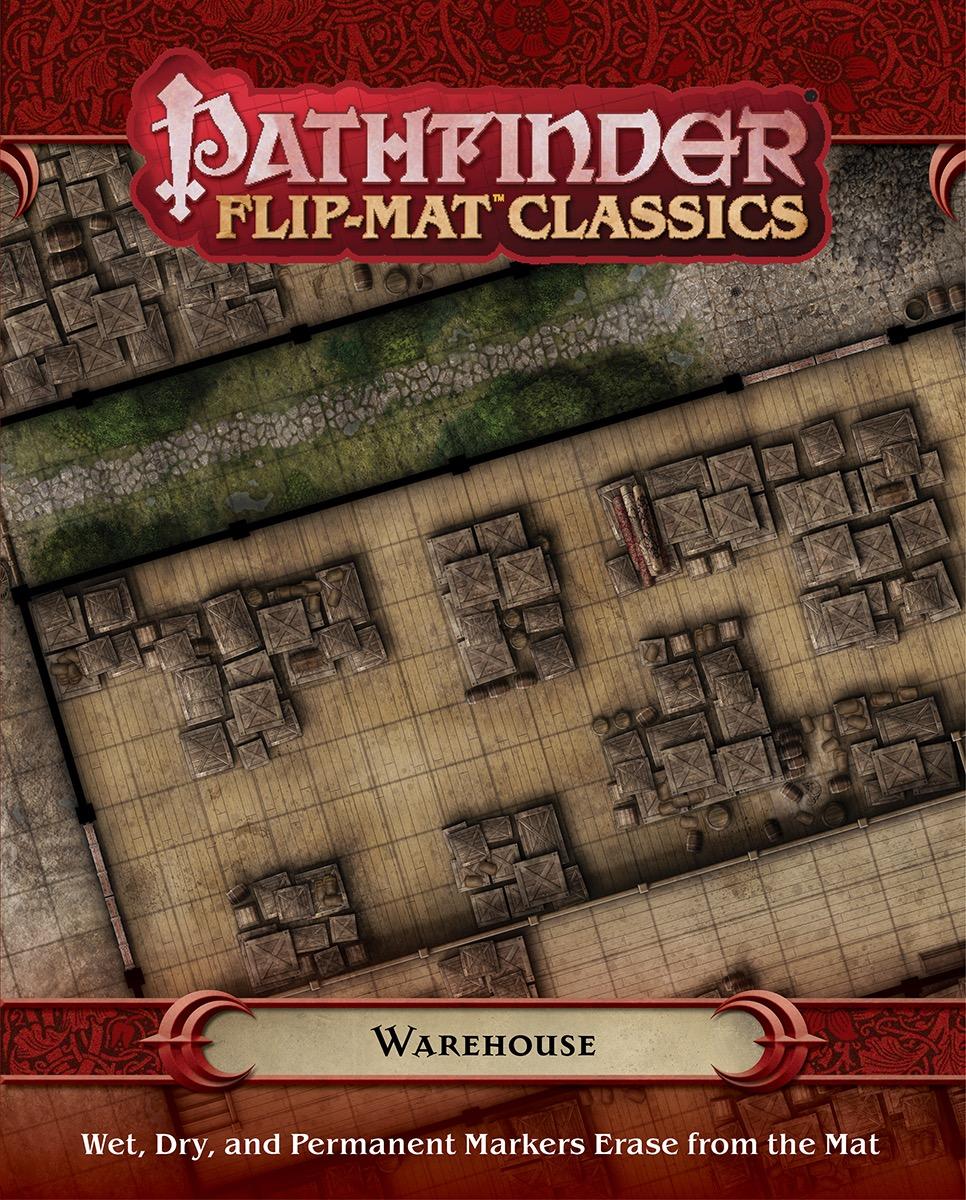 Pathfinder Rpg: Flip-mat Classics - Warehouse Box Front