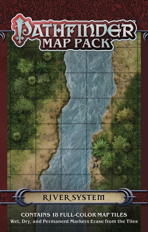 Pathfinder Rpg: Map Pack - River System Box Front