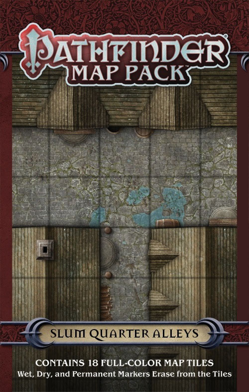 Pathfinder Rpg: Map Pack - Slum Quarter Alleys Box Front