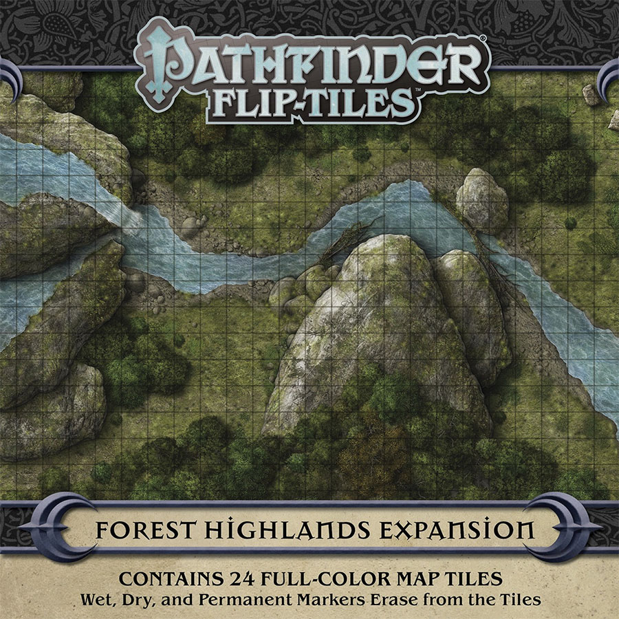 Pathfinder Rpg: Flip-tiles - Forest Highlands Expansion Game Box