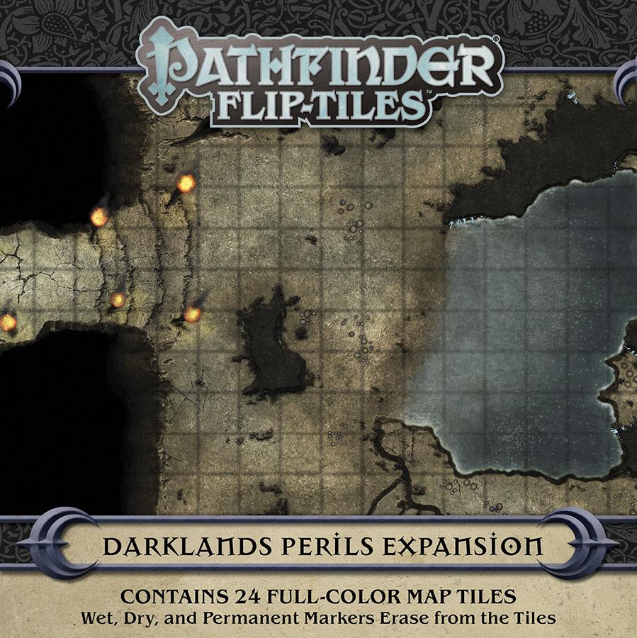Pathfinder Rpg: Flip-tiles - Darklands Perils Expansion Game Box
