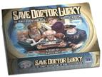 Save Doctor Lucky: Board Game (deluxe Edition) Box Front