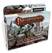 Pathfinder Adventure Card Game: Fortress Of The Stone Giants Adventure Deck Box Front