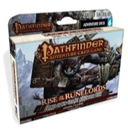 Pathfinder Adventure Card Game: Spires Of Xin-shalast Adventure Deck Box Front