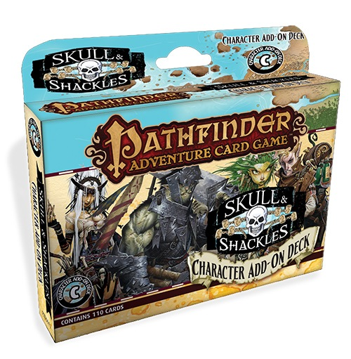 Pathfinder Adventure Card Game: Skull And Shackles Character Add-on Deck Box Front