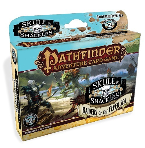Pathfinder Adventure Card Game: Raiders Of The Fever Sea Adventure Deck Box Front