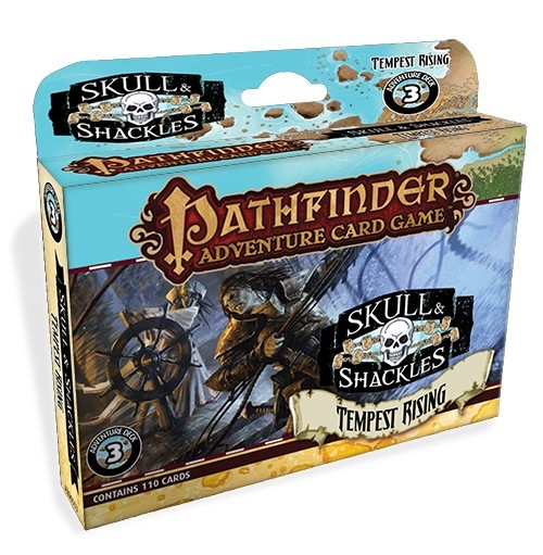 Pathfinder Adventure Card Game: Tempest Rising Adventure Deck Box Front