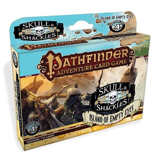 Pathfinder Adventure Card Game: Island Of Empty Eyes Adventure Deck Box Front