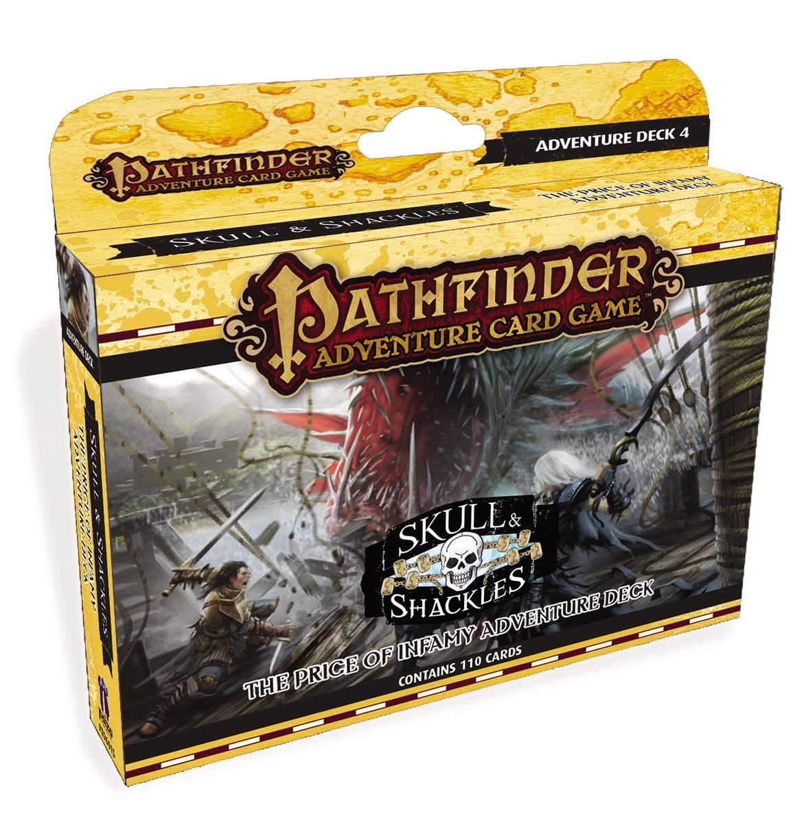 Pathfinder Adventure Card Game: The Price Of Infamy Adventure Deck Box Front