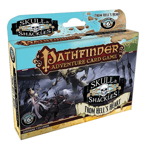 Pathfinder Adventure Card Game: From Hell`s Heart Adventure Deck Box Front