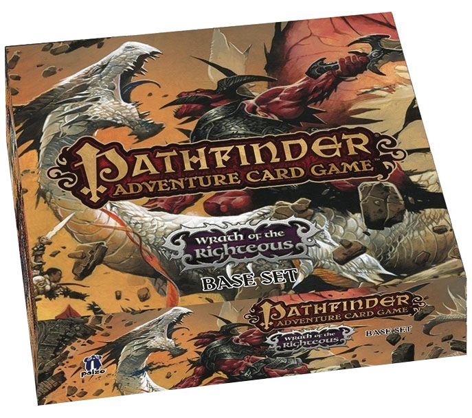 Pathfinder Adventure Card Game: Wrath Of The Righteous Base Set Box Front