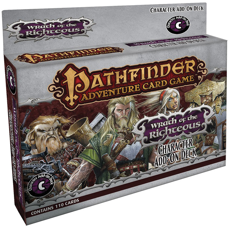 Pathfinder Adventure Card Game: Wrath Of The Righteous Character Add-on Deck Box Front
