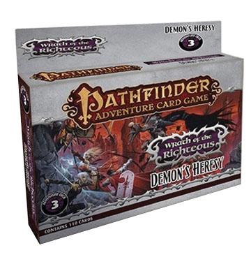 Pathfinder Adventure Card Game: Demons Heresy Adventure Deck Box Front