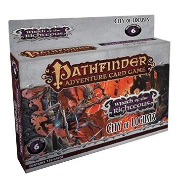 Pathfinder Adventure Card Game: City Of Locusts Adventure Deck Box Front