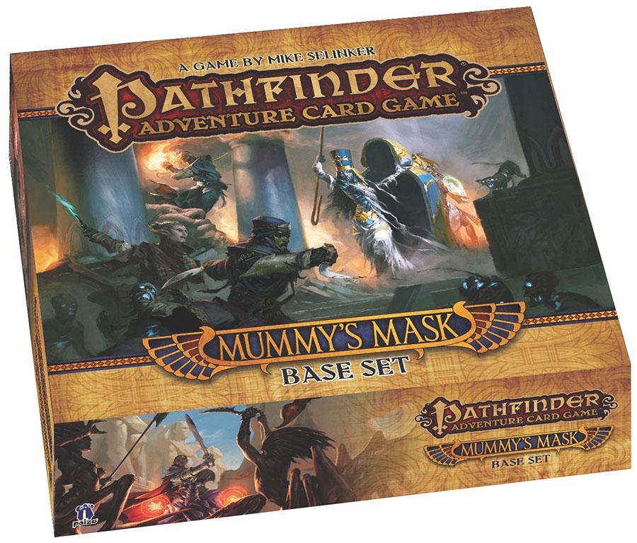 Pathfinder Adventure Card Game: Mummy`s Mask Base Set Box Front