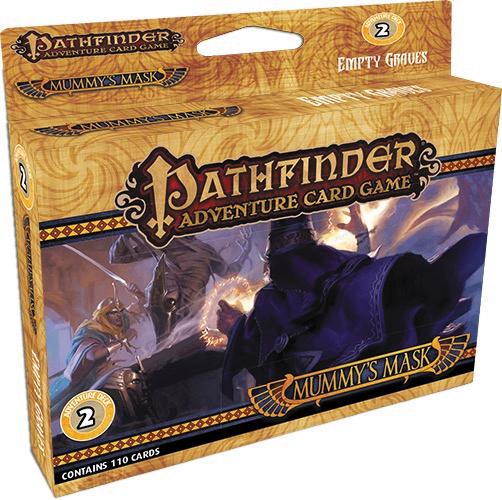 Pathfinder Adventure Card Game: Mummy`s Mask Adventure Deck 2 - Empty Graves Box Front