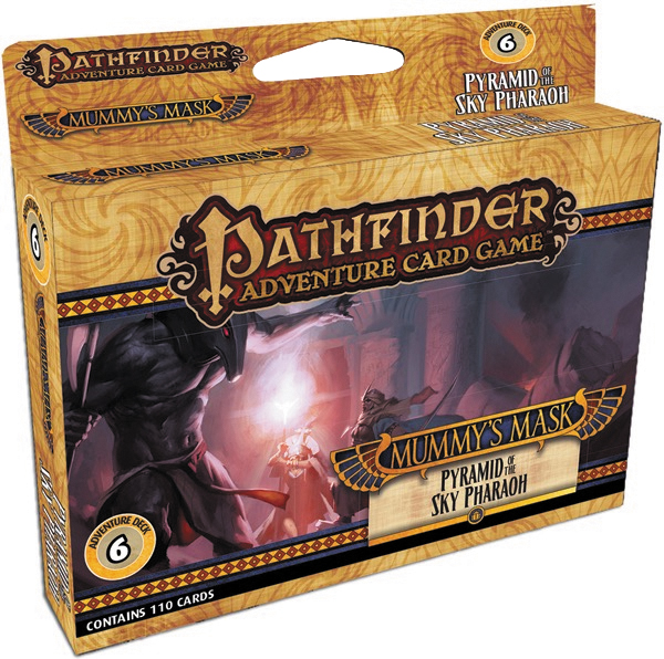 Pathfinder Adventure Card Game: Mummy`s Mask Adventure Deck 6 - Pyramid Of The Sky Pharaoh Box Front