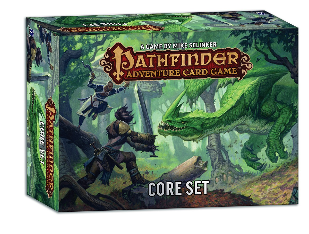Pathfinder Adventure Card Game: Launch Kit (revised Edition) Game Box